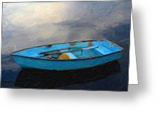 Boat Greeting Card by Artistic Panda