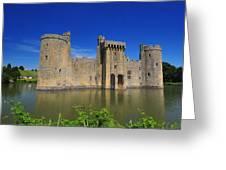Bodium Castle Sussex Greeting Card