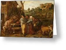 Boer Fisticuffs Greeting Card