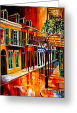 Bold Vieux Carre Greeting Card