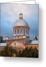 Bonsecours Market  Greeting Card