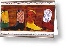 Boot Skootin Greeting Card