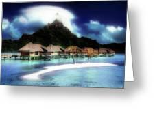 Bora Bora Greeting Card