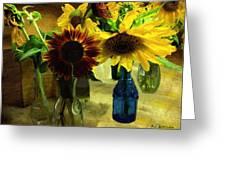 Bottled Sunshine  Greeting Card