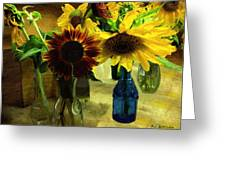 Bottled Sunshine  Greeting Card