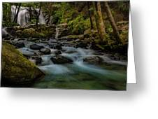 Brandy Creek Falls Greeting Card