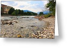 Brenta River Greeting Card