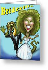Bridezilla Greeting Card