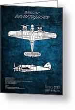 Bristol Beaufighter Greeting Card