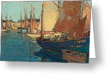 Brittany Boats Greeting Card