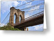 Brooklyn Bridge Ny Greeting Card