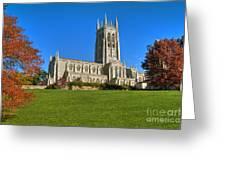 Bryn Athyn Cathedral Pennsylvania Greeting Card