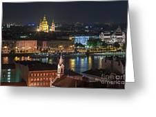 Budapest, Danube River, Hungary Greeting Card