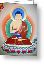 Buddha Kashyapa Greeting Card