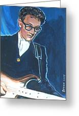 Buddy Holly Greeting Card
