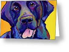 Buddy Greeting Card by Pat Saunders-White