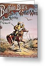 Buffalo Bill: Poster, 1893 Greeting Card