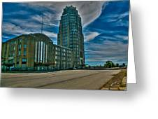 Buffalo Central Terminal Greeting Card