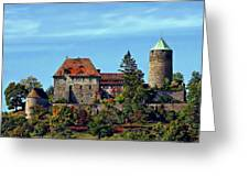 Burg Colmberg Greeting Card