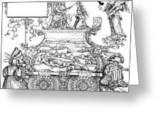 Burgkmair - Maximilian Greeting Card
