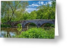 Burnside Bridge, Antietam Greeting Card