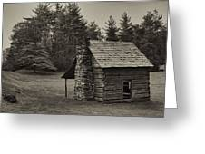 Cabin On The Blue Ridge Parkway - 15 Greeting Card