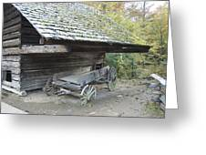 Cable Mill Barn Greeting Card