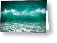 Cabo Pulmo Wave Greeting Card