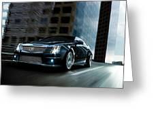 Cadillac Greeting Card