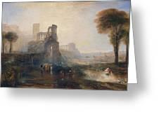Caligula's Palace And Bridge Greeting Card