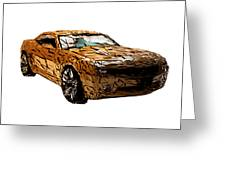 Camaro Greeting Card