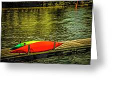 Canal De Lachine Greeting Card