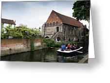 Canterbury City, Kent Uk Greeting Card