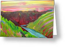 Canyon Dreams 8 Greeting Card