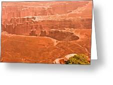 Canyonland N.p. Greeting Card
