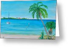 Cape Coral Beach Greeting Card
