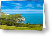 Cape Farewell Able Tasman National Park Greeting Card