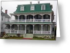Cape May Victorian Greeting Card