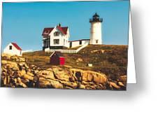 Cape Neddick Lighthouse Greeting Card