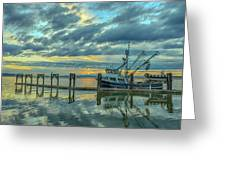 Cape Purse Seiner Greeting Card