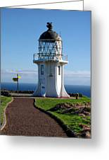 Cape Reinga Lighthouse Greeting Card