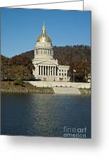 Capital Of West Virginia In Charleston Greeting Card