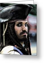 Captain Jack Greeting Card by David Patterson