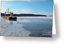 Car Ferry Greeting Card