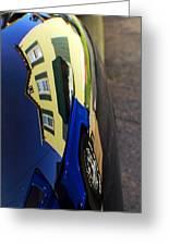 Car Reflection 10 Greeting Card