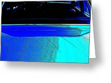 Car Reflection Bump Map 5 Greeting Card