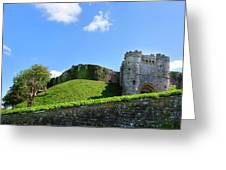 Carisbrooke Castle - Isle Of Wight Greeting Card