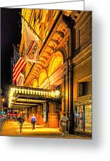 Carnegie Hall Greeting Card