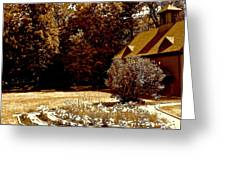 Carriage House Garden Greeting Card