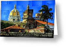 Cartagena Colombia Greeting Card